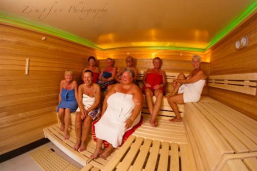 Sauna freundin
